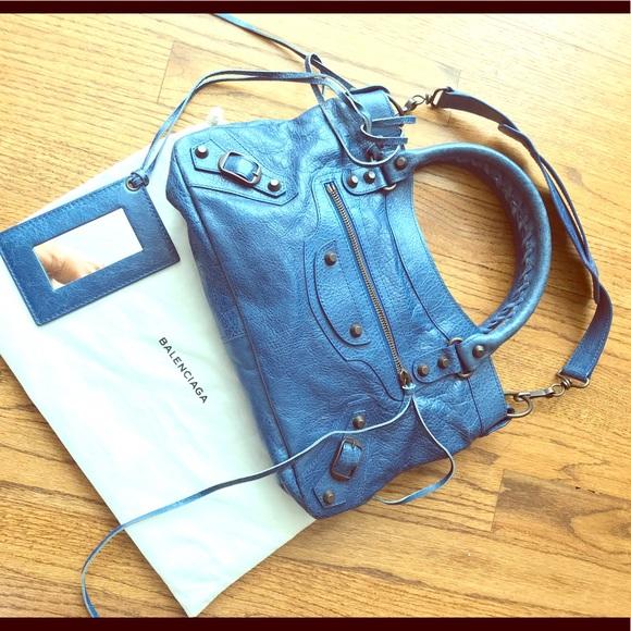 3591e57a44c Balenciaga Handbags - Balenciaga Classic First Chevre Leather Satchel